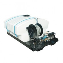 Cam Spray Professional 2500 PSI (Gas-Cold Water) Trailer/Truck Mount Pressure Washer w/ 300 Gallon Tank