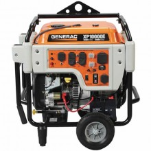 Generac XP10000E - 10,000 Watt Electric Start Professional Portable Generator (Scratch & Dent)