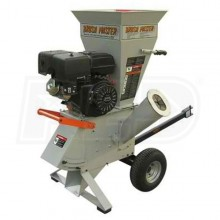 "Brush Master (4"") 420cc Commercial Duty Self-Feeding Chipper Shredder (CH4-WO)"