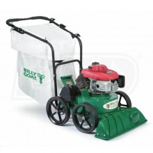 "Billy Goat (27"") 187cc Honda Self Propelled Lawn/Litter Vacuum w/ 2"" Chipper"