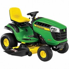 John Deere D140 22-HP V-Twin Hydrostatic 48-in Lawn Tractor (BG20891)
