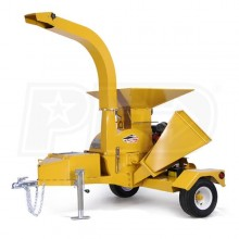 "Wallenstein (4"") 24-HP Honda Tow-Behind Chipper Shredder"