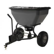 Precision Products 200 LB Tow Behind Broadcast Spreader With Rain Cover