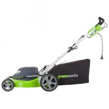 "Greenworks (20"") 12-Amp Electric 3-In-1 Lawn Mower"
