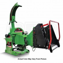 "Wallenstein (5"") 540-1000 RPM PTO Chipper w/ Hydraulic Feed & Intellifeed System - Green"