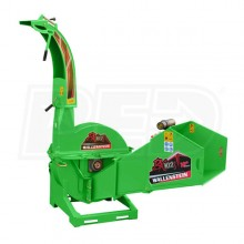 "Wallenstein (10"") 540-1000 RPM PTO Chipper- Green"