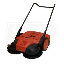 "Haaga (38"") Deluxe Triple Brush Push Power Sweeper"