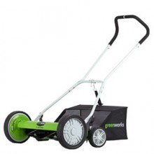 "Greenworks (20"") 5-Blade Push Reel Lawn Mower"