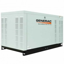 Generac QuietSource Series 27 kW Standby Power Generator (Premium-Grade)