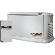 Generac Guardian 20kW Aluminum Standby Generator System (200A Service Disconnect + AC Shedding)