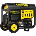 Champion 41533 - 7200 Watt Electric Start Portable Generator w/ Wireless Remote
