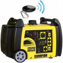 Champion 75537i - 2800 Watt Electric Start Inverter Generator w/ RV Plug & Wireless Remote
