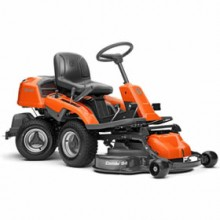 "Husqvarna R220T (41"") 18HP Articulating Riding Mower w/ Combi Deck"