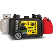 Champion 100263 - 3100 Watt Dual Fuel Inverter Generator w/ RV Plug