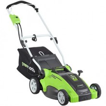 "Greenworks (16"") 10-Amp Electric 2-In-1 Lawn Mower"