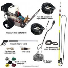 Pressure-Pro Deluxe Start Your Own Pressure Washing Business Kit w/ Aluminum Frame, CAT Pump & Belt-Drive Honda Engine