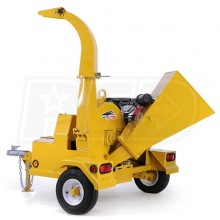"Wallenstein (4"") 24-HP Honda Self-Feed Tow-Behind Chipper"