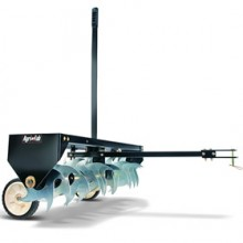 "Agri-Fab (40"") Turf Shark Curved Spike Tow Behind Aerator"