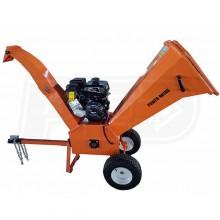 "PowerKing (4"") 14HP Kohler Tow-Behind Wood Chipper Shredder"